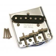 005-8384-000 Genuine Fender Mexican Classic Tele Bridge and Pickup Assembly 0058384000