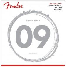 073-0150-403 Original Pure Vintage Nickel Fender Electric Guitar Strings Original 150's 0730150403
