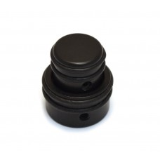 80610B (1) Black Hipshot Stacked O-Ring Guitar & Bass Knob 6mm/8mm