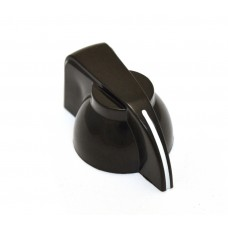 CHK-700 (1) Black Chicken Head Knob for Split Shaft