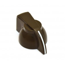 CHK-700BN (1) Dark Brown Chicken Head Knob for Split Shaft