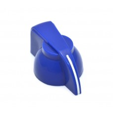 CHK-700BU (1) Blue Chicken Head Knob for Split Shaft