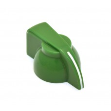 CHK-700G (1) Green Chicken Head Knob for Split Shaft