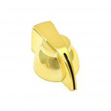 CHK-700GLD (1) Gold Chicken Head Knob for Split Shaft