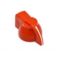 CHK-700R (1) Red Chicken Head Knob for Split Shaft