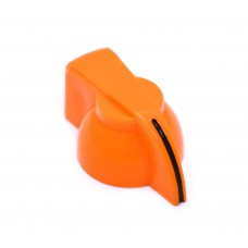 CHK-700RG (1) Orange Chicken Head Knob for Split Shaft