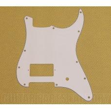 PG-0993-035  3-Ply White 1 Humbucker/1 Knob Guitar Pickguard For Fender Strat