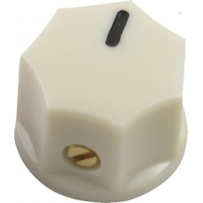 PK800C Cream Pedal Mini Indicator Knob Set Screw, 15mm x 11mm