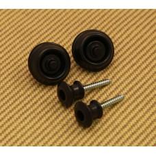 SLS1033BK Dunlop Black Dual Design Straplok System