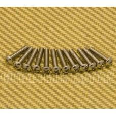001-5800-049 Genuine Fender Nickel Telecaster Bridge Pickup Mounting Screws 0015800049
