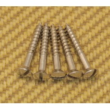 001-8371-049 Fender 6X1 Slotted '52 Style Bridge & Strap Button Mounting Screws