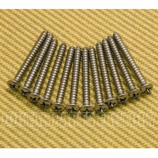 002-1424-049 Fender Guitar Neck Plate Mounting Screws-American Standard American-Deluxe Guitars 0021424049