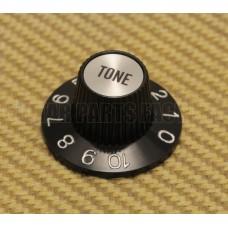 002-8216-000 Genuine Fender Silver/Black TONE Knob for USA CTS Pots