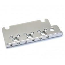 003-6527-000 Fender Guitar Bridge Plate, American Deluxe Strat®, Chrome