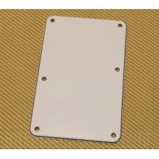 003-8948-000 Fender White Strat Guitar Backplate Back Plate No Hole Sambora/Dlx