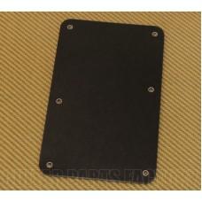 005-4115-002 Genuine Fender 3-Ply Standard No Hole Black Strat Back Plate