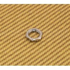 005-5116-000 (1) Genuine Schaller Chrome Strap Lock Nut