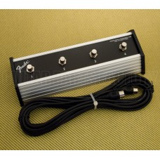 005-7219-000 Fender 4-Button Footswitch For Cyber-Twin Amp