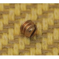 005-8786-000 Genuine Fender Guitar/Bass Gold Knob Set Screw 6-32X1/8