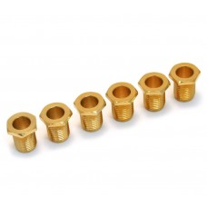 005-8821-049 (6) Gold Schaller Tuner Am Series Fender Bushings and Washers