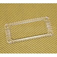 006-0712-000 (1) Genuine Gretsch Clear Filtertron Pickup Ring / Bezel