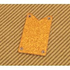 006-0904-000 Genuine Gretsch Orange Sparkle White Falcon Truss Rod Cover Plate