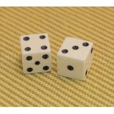 006-0908-0907-000 Gretsch Brian Setzer Lucky 7 Dice Knob Set