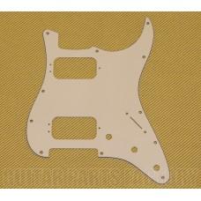 006-1493-000 Pickguard Parchment Stratocaster® Humbucker H/H, 11-Hole Mount 3-Screw Mount HB 0061493000