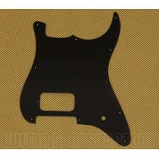 006-2373-000 Fender Squier Strat 10-Hole Black 1ply 1 Humbucker 1 Knob Pickguard