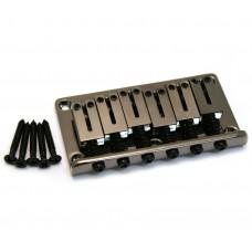 006-2381-000 Fender Black Nickel Modern Hardtail Guitar Bridge 0062381000
