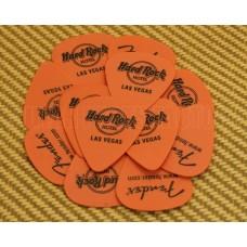 006-2864-000 Hard Rock Hotel Las Vegas Picks Orange .60MM