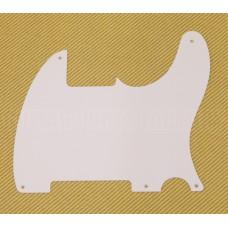 006-8214-049 Genuine Fender '50s Single Ply White Esquire Pickguard 0068214049
