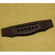 007-4665-000 Lefty Guild Early Model GAD 50L Acoustic Rosewood Guitar Bridge