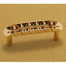 008-1239-G Gold Fender Adjustable Small Saddle Bridge Mustang/Jaguar/Jazzmaster