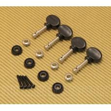 009-4773-000 Gretsch G9100/G9110 Uke Ukulele Tuners w/ Black Buttons