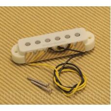 009-7219-000 Squier by Fender Duncan Designed JG-101N Neck Pickup Aged White