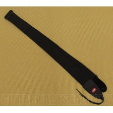 086-8014-008 Rebel Black 2 inch Poly Pick Guitar Strap Guitar/Bass 0868014008