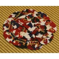 098-0351-850 Fender Medium Confetti Celluloid 351 Picks