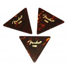 098-0355-100 Fender Thin Tortoise Celluloid 355 Picks