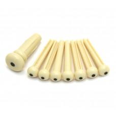 099-0402-000 Fender Acoustic Bridge Pin Set - Cream