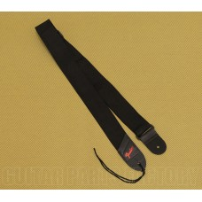 099-0606-049R Genuine Fender Black/Red Logo Pick Pouch Strap for Guitar/Bass 0990606049R