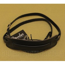 099-0664-006 Genuine Fender Super Deluxe Vintage-Style Black Strap Guitar/Bass 0990664006