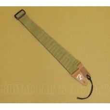 099-0687-000 Genuine Fender Tweed Vintage Amp Style Cotton F Guitar/Bass Strap 0990687000
