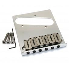 099-0807-100 Modern Fender Chrome American Tele Guitar Telecaster Bridge