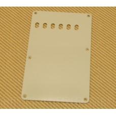 099-1320-00M Fender Guitar 6-Hole Vintage Strat 1-Ply Aged Mint Back Plate