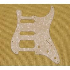 099-1338-000 Fender Stratocaster Guitar H/S/S Aged Pearl Humbucker Pickguard