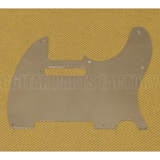 099-1355-100 Fender Telecaster/Tele Metal Chrome Brass Guitar Pickguard
