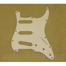 099-1374-000 Fender 3-Ply Parchment Standard Strat Pickguard 0991374000