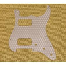 099-1382-000 Fender Engine Turned Clear Aluminum HH Stratocaster Pickguard