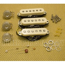 099-2115-000 Fender Aged White Vintage Noiseless Strat Pickups
